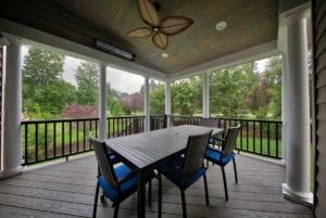 Custom Deck Design by Deck Creations in Central VA