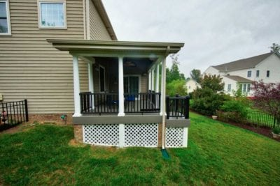 Custom Deck Design by Deck Creations in Richmond, VA