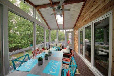 Custom Sunroom Design and Construction in Williamsburg VA