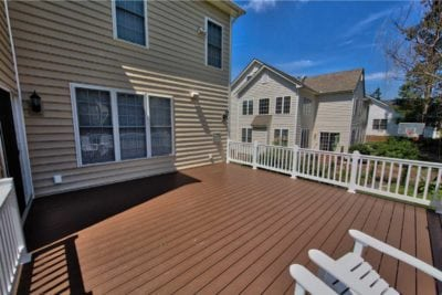 Large, Wooden Deck Design and Construction by Deck Creations in Charlottesville, VA