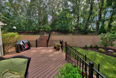 Beautiful Large Wooden Deck by Deck Creations in Richmond, Williamsburg, Charlottesville, Hampton Roads VA