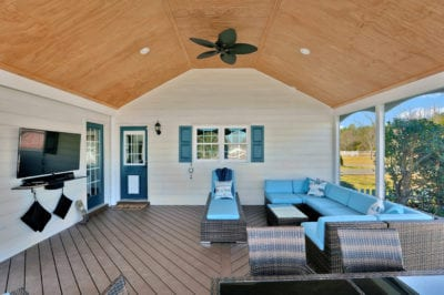 Our Work | Custom Covered Porch Design | Deck Creations Virginia Portfolio