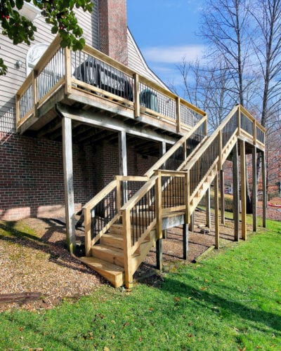 Our Work | Custom Deck and Stairs Design | Deck Creations Virginia Portfolio