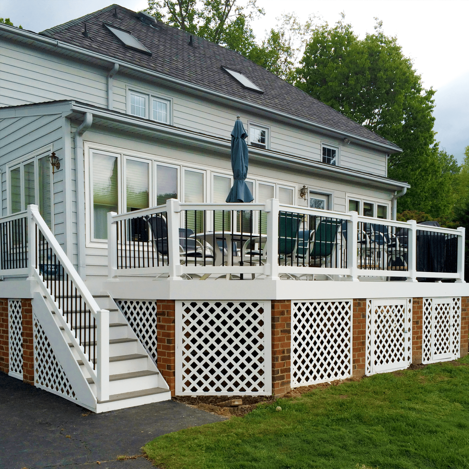 Richmond | Custom Deck Design | Deck Creations