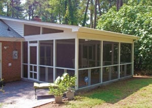 Our Work | Custom Screened-in Porch Design | Deck Creations Portfolio