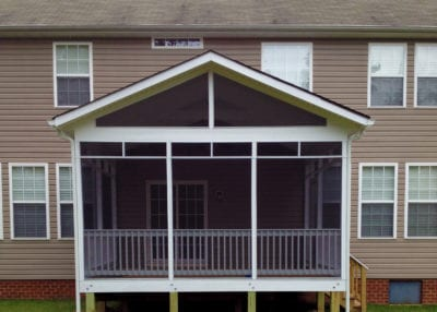 Our Work | Custom Screened Porch Designs | Deck Creations Portfolio