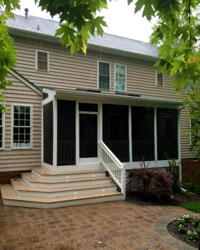 Our Work | Custom Screened Porch Designs | Deck Creations Deck Portfolio