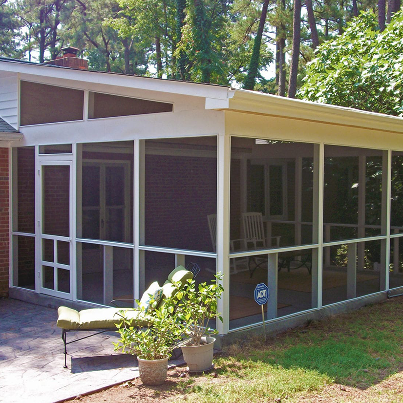 Screened and Covered Porch in Richmond, VA | Deck Creations