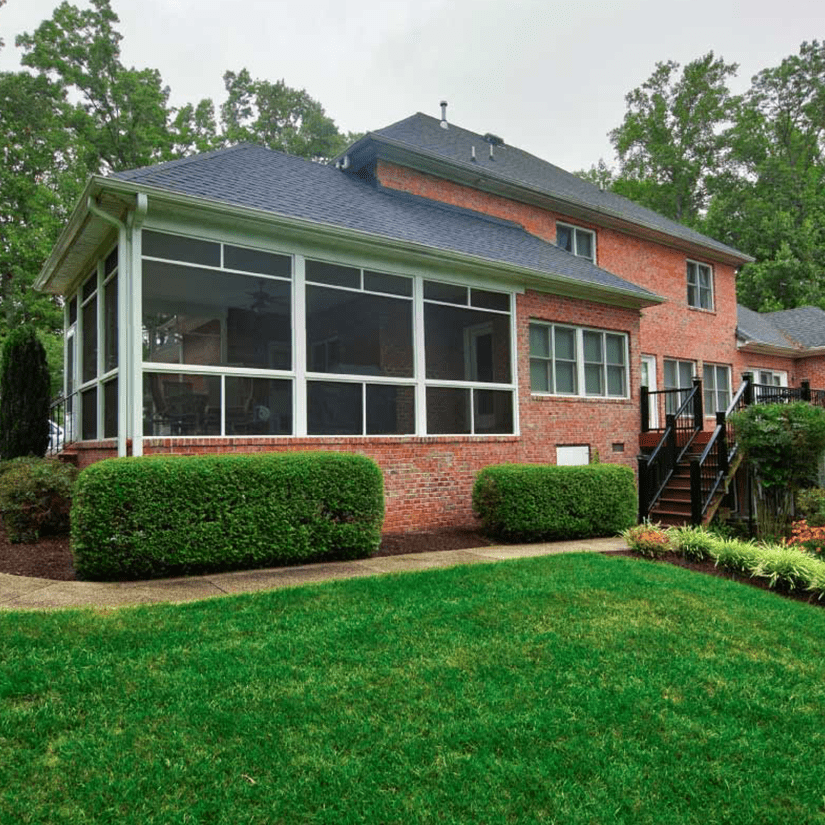 Sunroom Attached to Brick House in Richmond, VA | Deck Creations